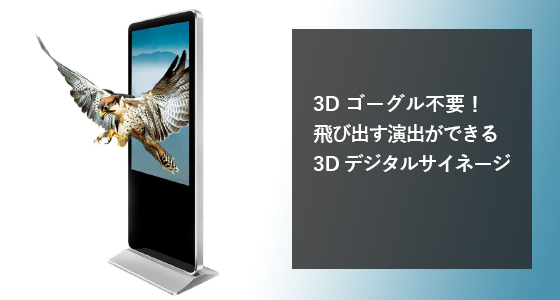 3Dデジタルサイネージ『3DDS』