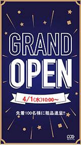 グランドオープン!テンプレート:ネイビー