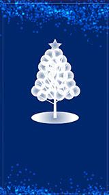 クリスマステンプレート:ツリー